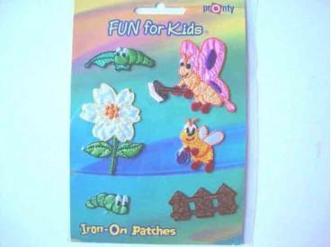 Iron-on Fun for kids Vlinders