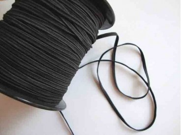 Soutage elastiek Zwart
