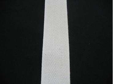 Keperband 3cm. creme