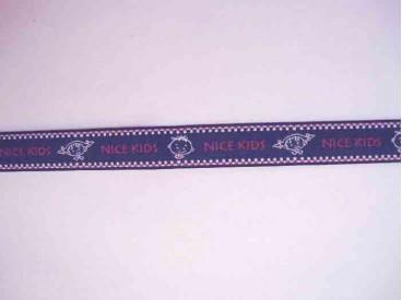 Sierband Donkerblauw/rood/wit NiceKids   O-850