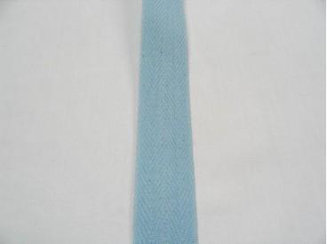 Keperband 3cm. licht blauw