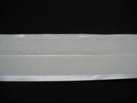 Opplakbaar wit klitteband 2cm breed
