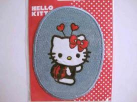 Hello Kitty Ovaal jeans als lieveheersbeestje verkleed