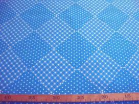 Wiebertje katoen Stip/bbruit Aqua 2146-4N