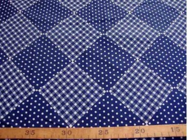 5o Wybertje Stip/bbruit Donkerblauw 2146-8N