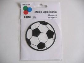 Voetbal Zwart/Wit 3.7 cm.