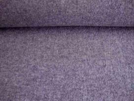 Mooie zware kwaliteit voorgekookte grijs gemeleerde boucle wolvilt.  Rafelt niet. Zeer geschikt voor jasjes.  100% wol  1.45 mtr