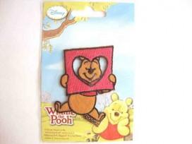 Winnie de pooh applicatie,Met hart