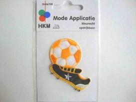 4x Applicatie Holland Voetbalschoen en Bal 1116B