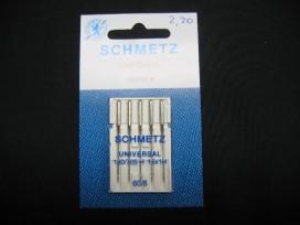 Schmetz universeel naaimachine naalden  60/08