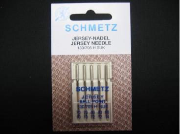 Schmetz naaimachine naalden. Jersey naalden voor tricot stoffen Naalddikte 70-90 ass/jersey