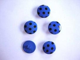 5d Stipknoop Kobla/zwart 18 mm. sk225