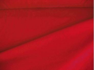 Rode viscose tricot.  92%visc./8%el.  1.60 mtr.br  225 gr/m²