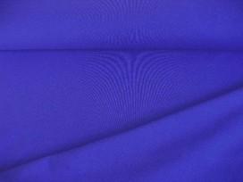 Kobalt kleurige viscose tricot.  92%visc./8%el.  1.60 mtr.br  225 gr/m²