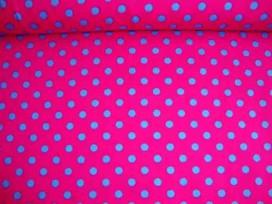 Ton sur ton Stip Pink/aqua 2221-17N