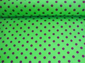 Ton sur ton Stip Lime/paars 2221-23N