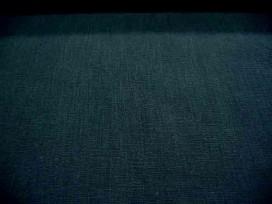 Een diep donkerblauwe soepele linnen 100% linnen 1.40 mtr. br. 245 gr/m2