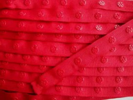 Drukkertjesband Rood 8366