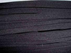 Keperband 14 mm Zwart