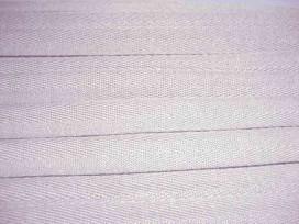 Lichtgrijs keperband van 14 mm. breed. 100% polyester