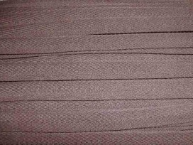 Taupe kleurig keeperband van 14 mm. breed. 100% polyester