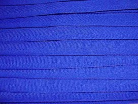 Kobalt kleurig keperband van 14 mm. breed. 100% polyester