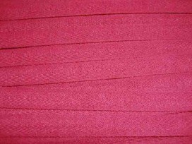 Warmrood keperband van 14 mm. breed. 100% polyester
