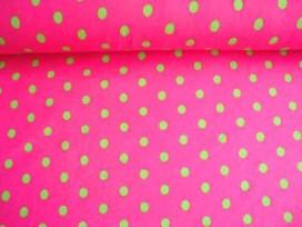 5b Tricot N Ton sur ton Middelstip Pink/lime 3994-17N