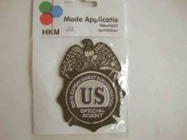 7v Applicatie jongens US special agent 1116H