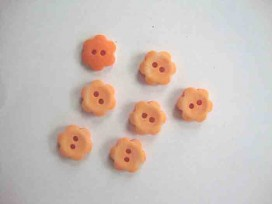 Bloemknoop Oranje 12mm. bk324-S2
