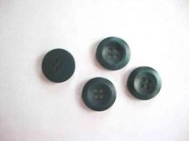 5q Kunststof knoop 4-gaats Groen 15mm. 486-S6
