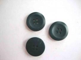 Kunststof knoop 4-gaats Groen 20mm. 487-S6