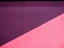 Stretch jeans 2 kleurig Do.blauw/rood