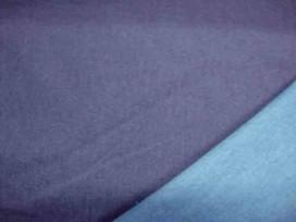 Stretch jeans 2 kleurig Blauw/aqua
