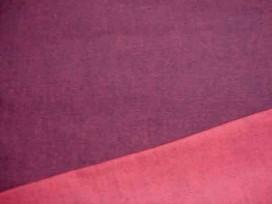 6c Stretch jeans 2 kleurig Zwart/rood 44445