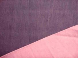 Stretch jeans 2 kleurig Do.blauw/roze
