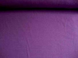 Een paarse effen tricot. Rekt zowel in de breedte als in de lengte.  95%co/5%el.  1,50 mtr. br.  200gr/m2