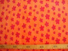2c Nicky Flower Oranje/rood 2436-48BK