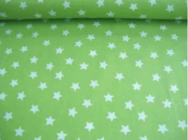 Ster katoen Lime/wit 5571-24N