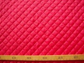 Gewatteerde voering Rood Kleine ruit 3279-5