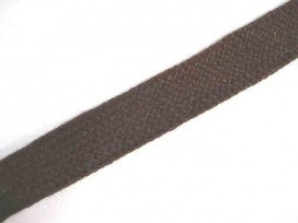 5m Tressband Bruin 20mm. 383
