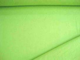 Boordstof Katoen Lime 802B
