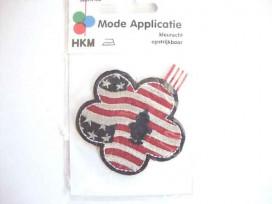 Bloem applicatie US vlag