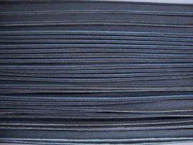 Paspelband dubbelzijdig elastisch Grijs 5005-002
