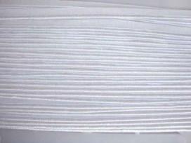 5c 2 zijdig elastisch paspelband Wit 5005-009