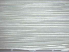 5d 2 zijdig elastisch paspelband Offwhite 5005-089