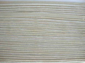 5e 2 zijdig elastisch paspelband Zand 5005-886