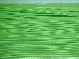 5k 2 zijdig elastisch paspelband Lime 5005-525