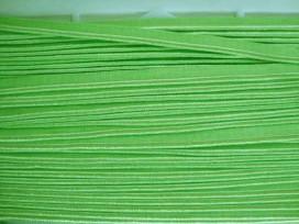 Paspelband dubbelzijdig elastisch Lime 5005-525