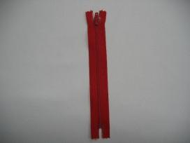 Japon rits 25 cm. rood
